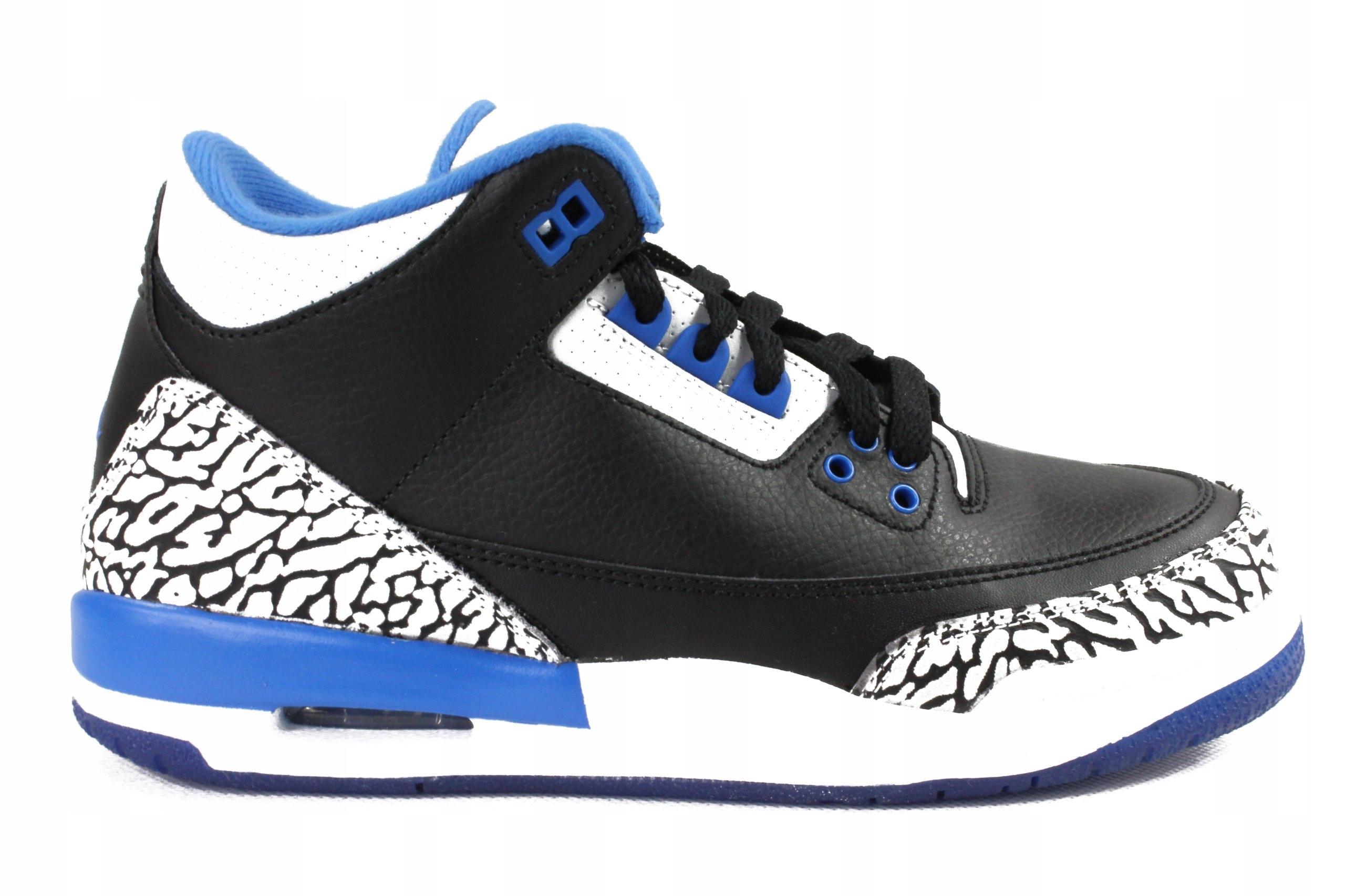 Buty Nike Air Jordan 3 Retro BG roz 36,5 Lebron Kd