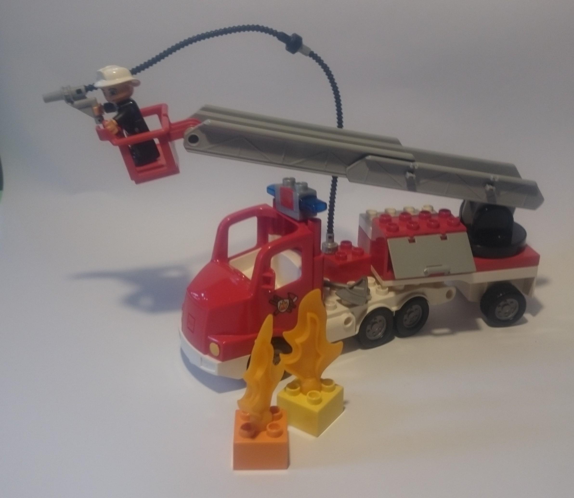Klocki Lego Duplo Duży Wóz Strazacki 5682 7088006725 Oficjalne