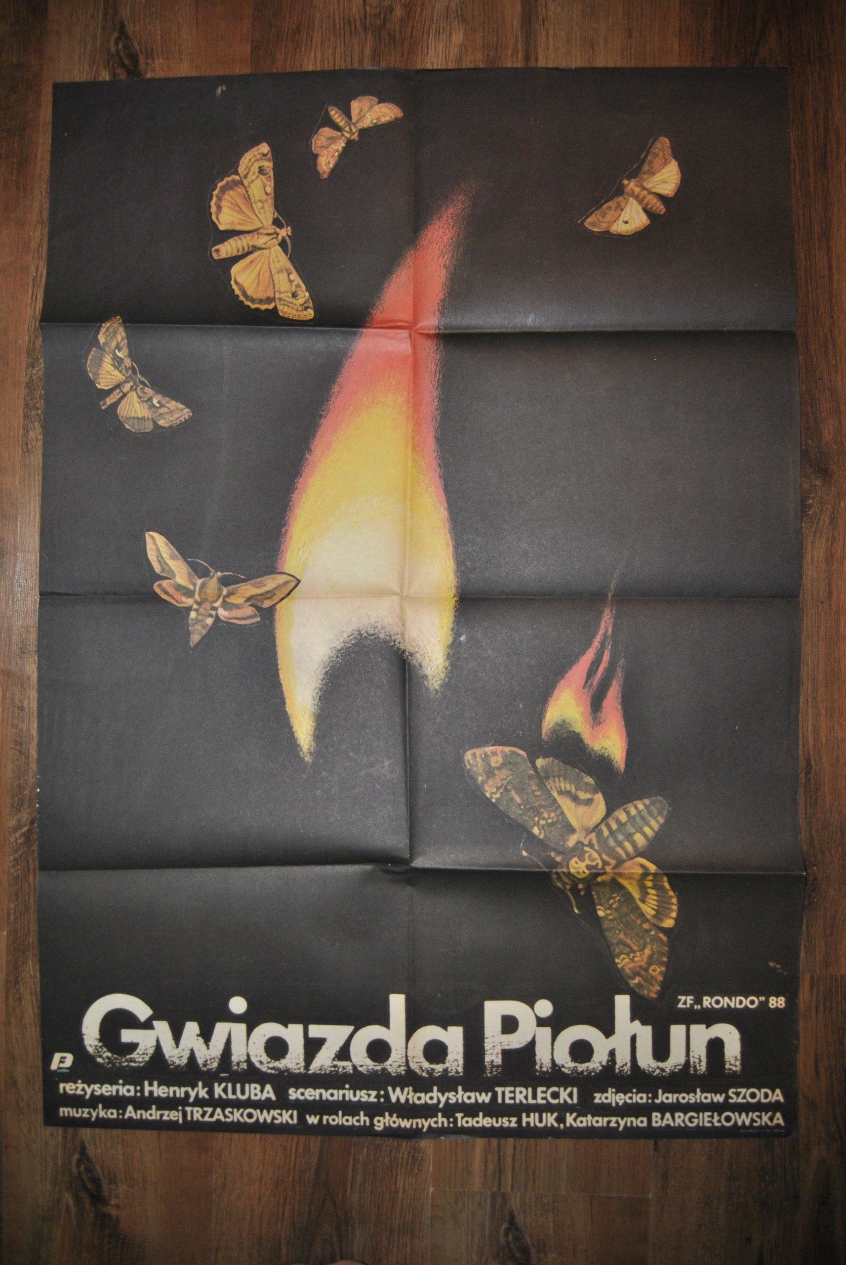 Plakat Filmowy Gwiazda Piołun 7180724649 Oficjalne