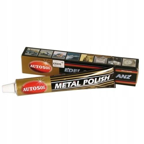 AUTOSOL METAL POLISH pasta do chromu miedzi alumin