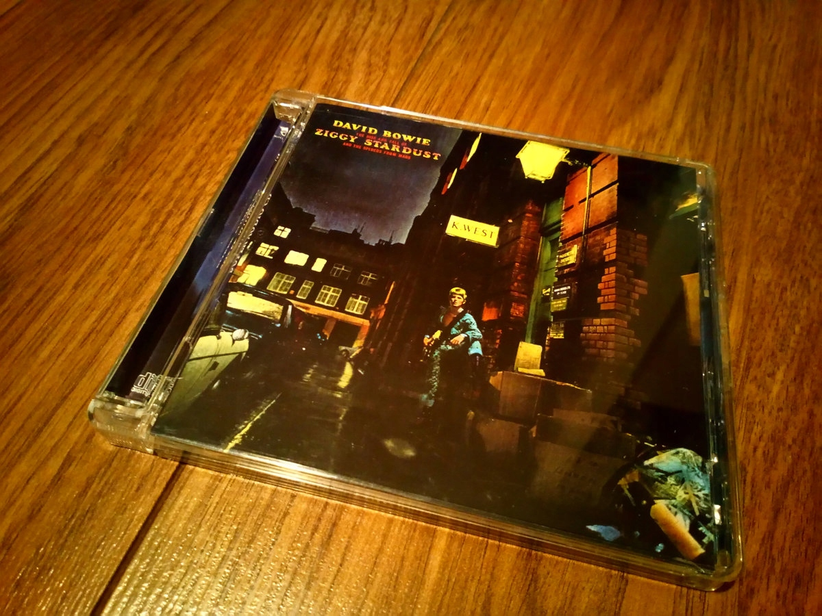 DAVID BOWIE ZIGGY STARDUST SACD 5.1 SUPER AUDIO CD