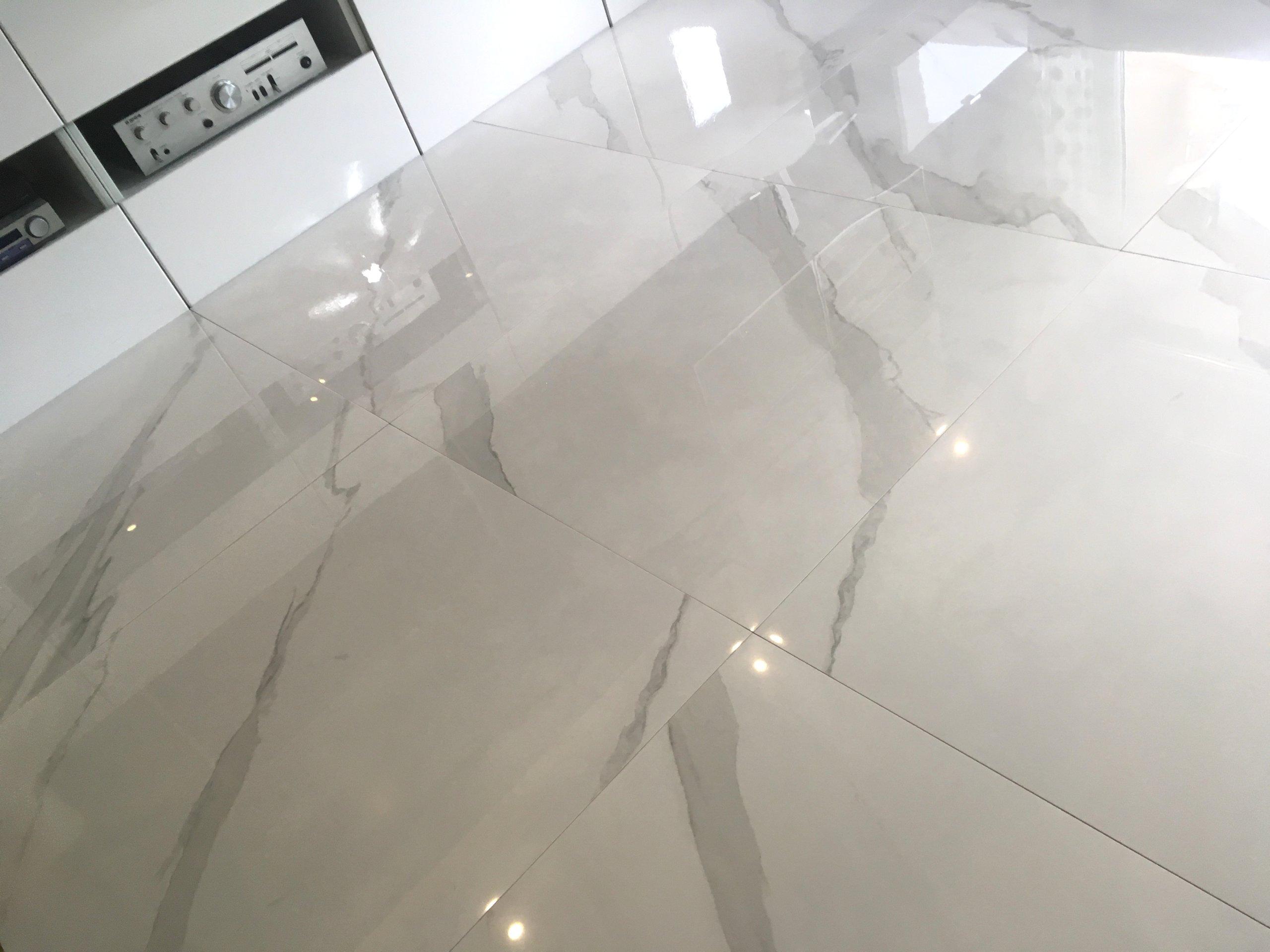 Gres Polerowany Biały Marmur Carrara Poler 60x60 7272113682