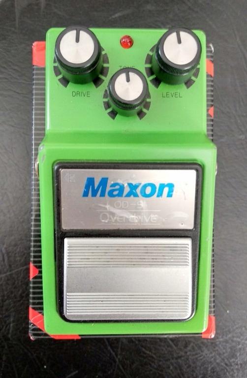 Maxon OD9 OD-9 (Ibanez TS-9)Tubescreamer overdrive