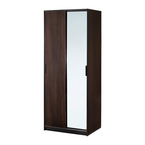 Ikea Trysil Szafa Przesuwne Drzwi Lustro Brązowy 6865471930