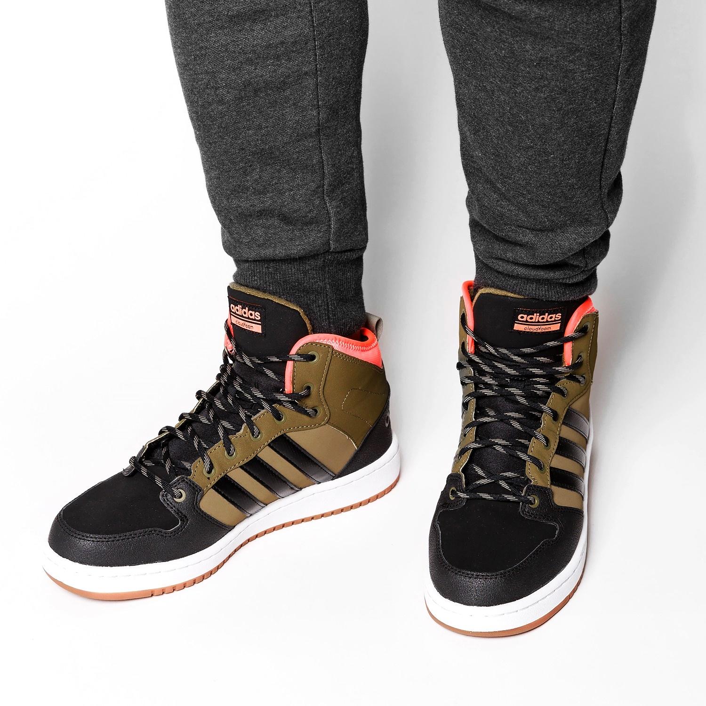 szczegóły dla za pół dobrze out x Adidas Neo HOOP's MID BB9914 Zimowe buty męskie 44 ...