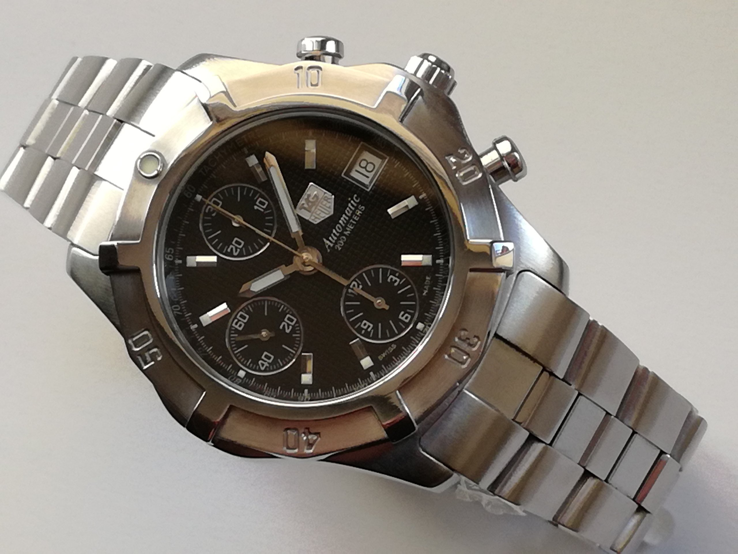 Tag Heuer 2000 Exclusive Chronograph Automatic !!