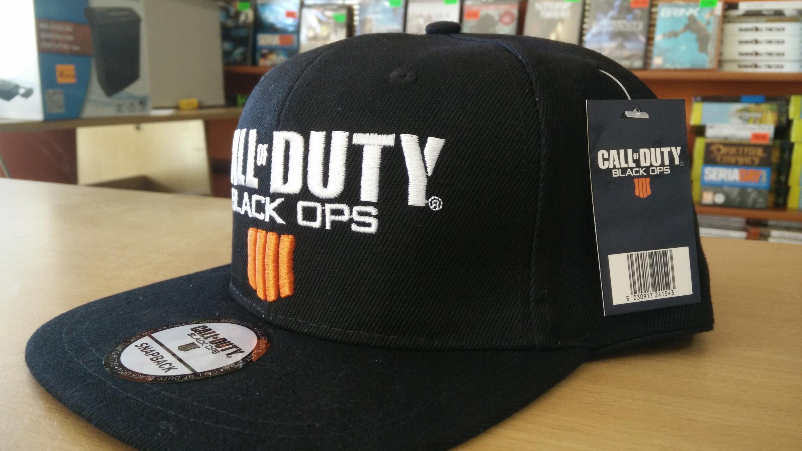 f2b80452039 Czapka z daszkiem Snapback Call of Duty Black Ops4 - 7634533154 ...