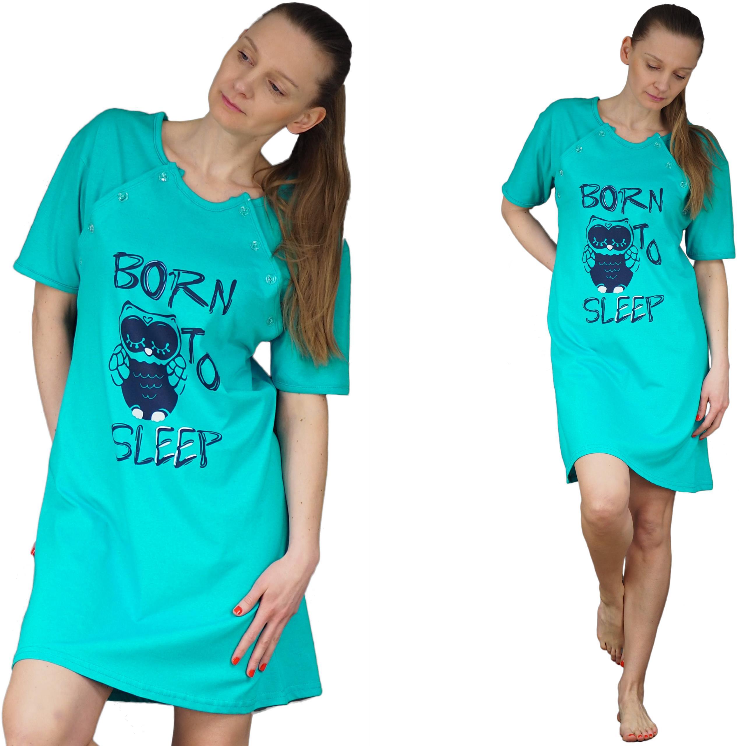 c716bf236be487 KOSZULA NOCNA XL 42 karmienia piżama s-2xl KOLORY - 6810934395 ...