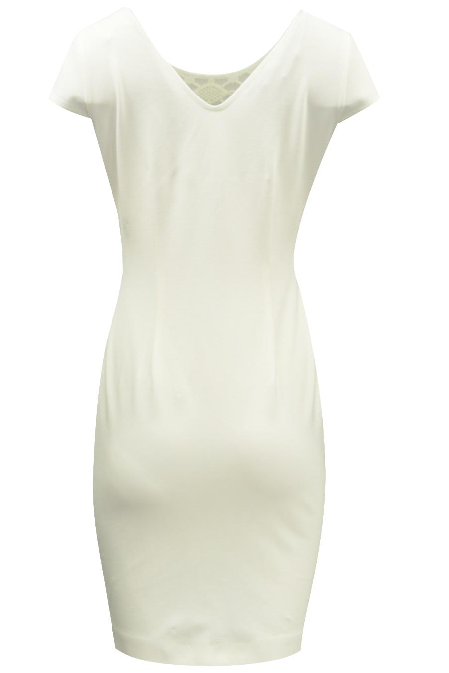790d1138b9 Elegancka kremowa sukienka na wesele 42 jak 40 - 7356804496 ...