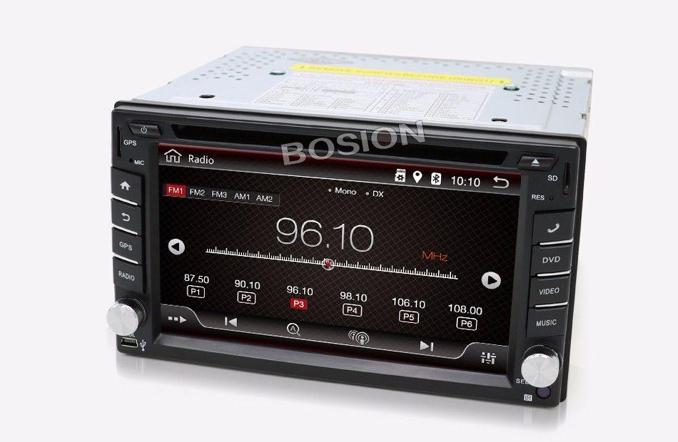 BOSION 2DIN ANDROID GPS WIFI 16GB KAMERA NAWIGACJA
