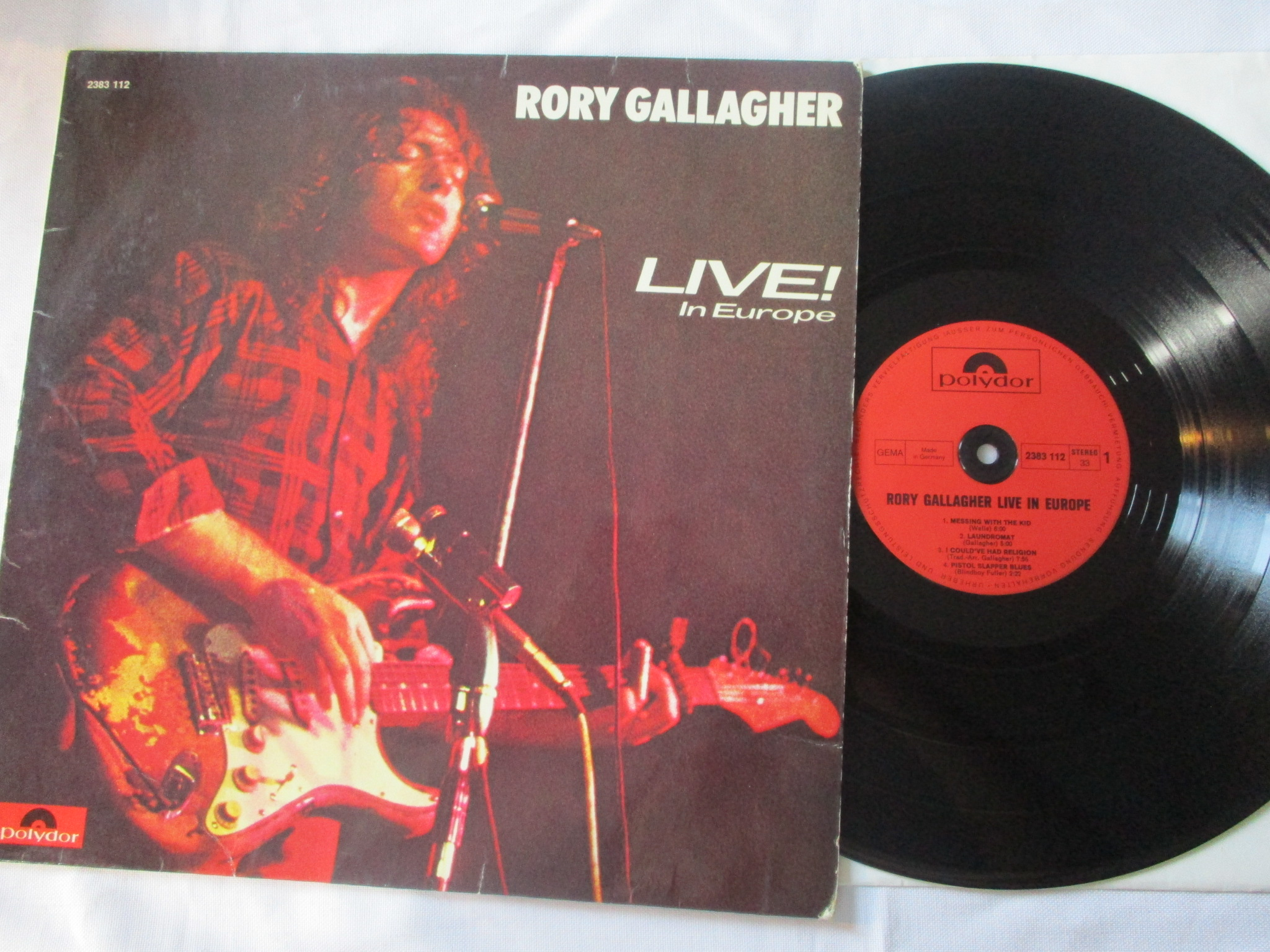 Rory Gallagher  Live! In Europe #40