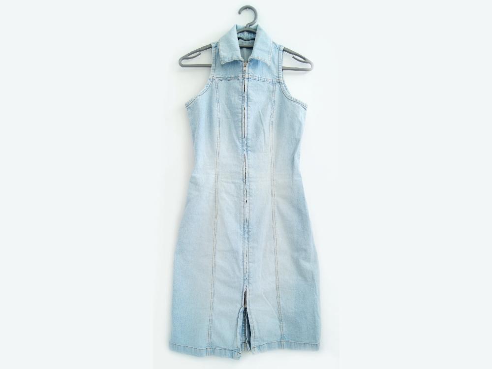 df6517c88e Amisu New Yorker Sukienka Jeansowa Denim 34 Xs 7319384262