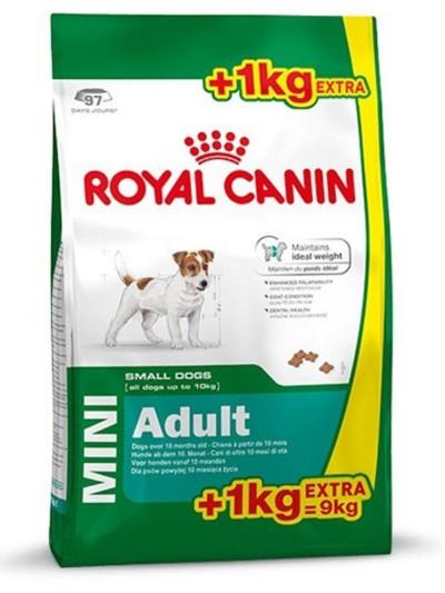 ROYAL CANIN MINI ADULT 8KG +1KG GRATIS