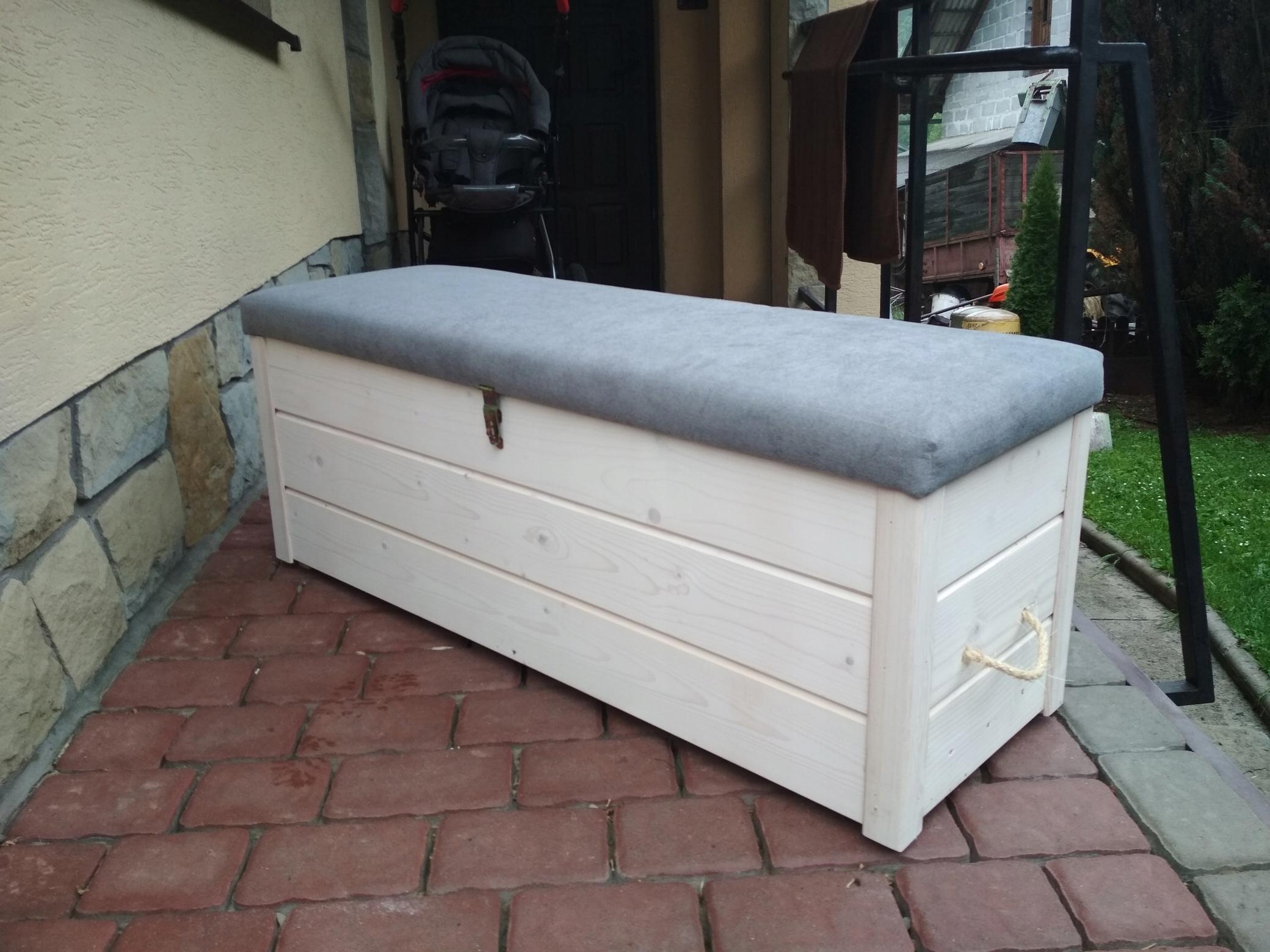 852d1a02182c0 drewniana skrzynia skrzyneczka kufer meble ogro - 7596068541 ...