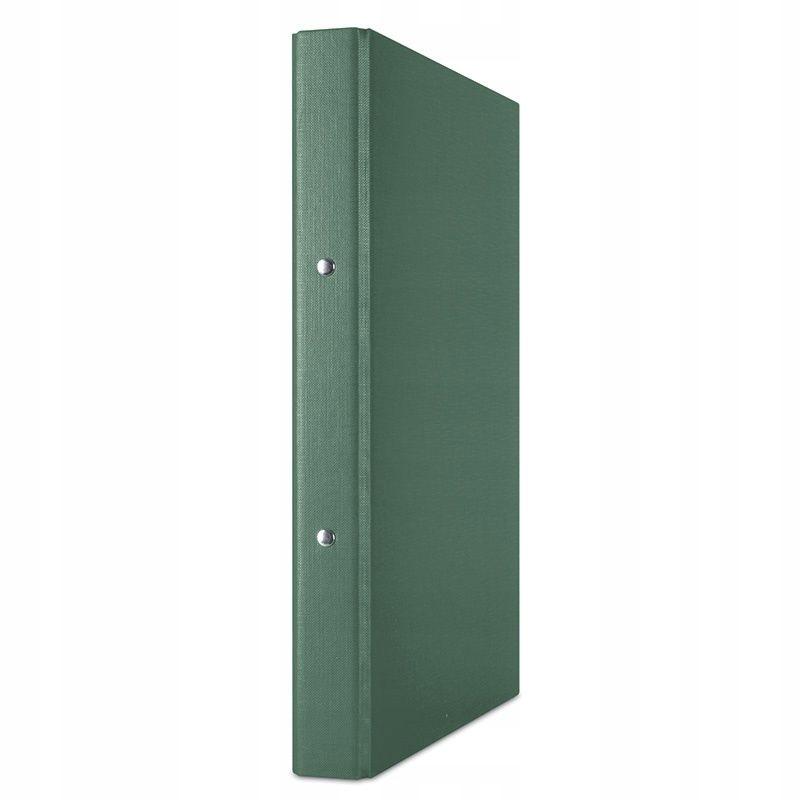 Segregator ringowy DONAU, PP, A4/2R/20mm, zielony