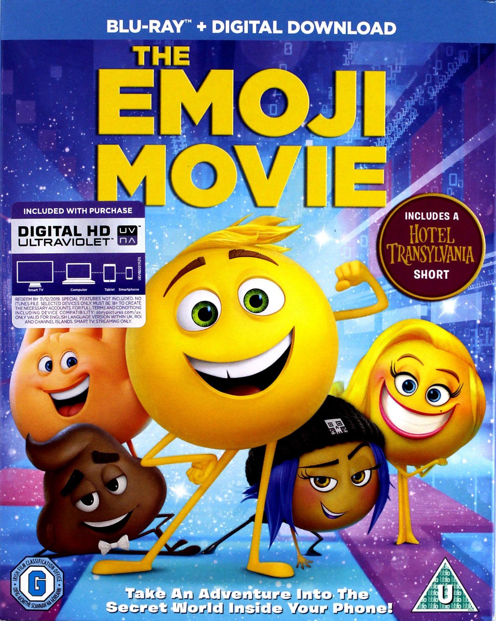 EMOTKI. FILM (BLU-RAY)