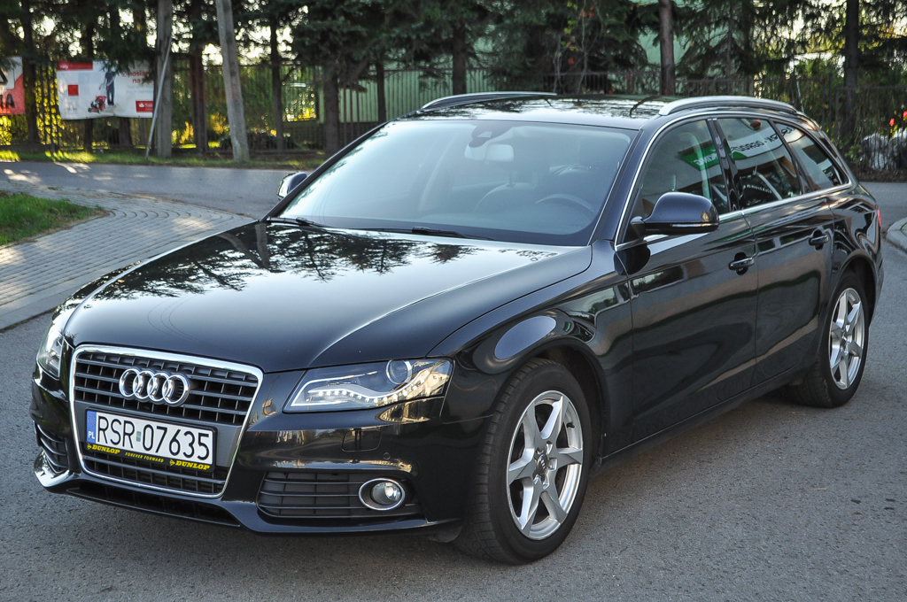 audi a4 b8 avant 2 0 tdi 143 km serwis 2009 rok. Black Bedroom Furniture Sets. Home Design Ideas