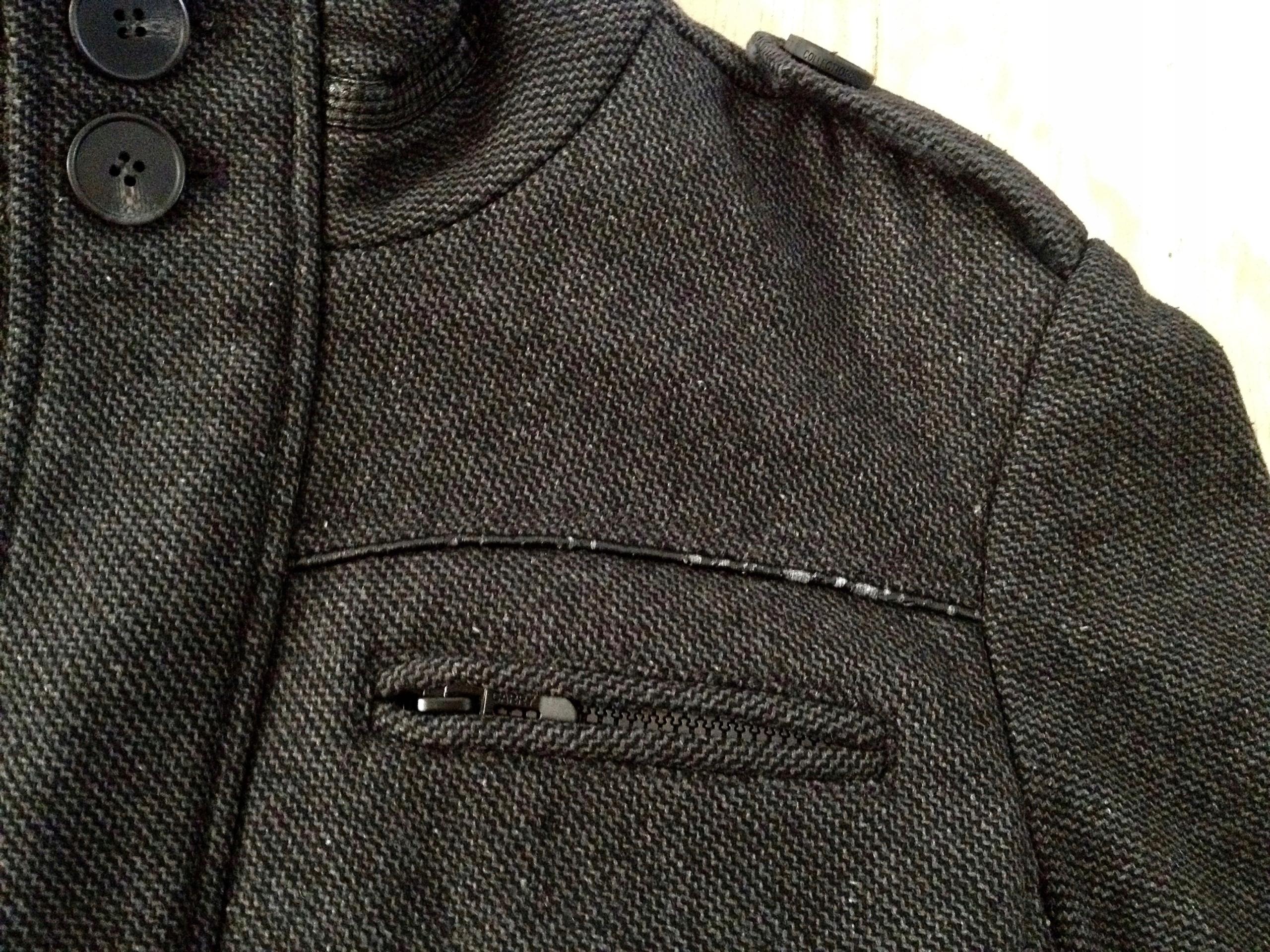 4c580c8a Kurtka krótki płaszcz = Carry Formal = M