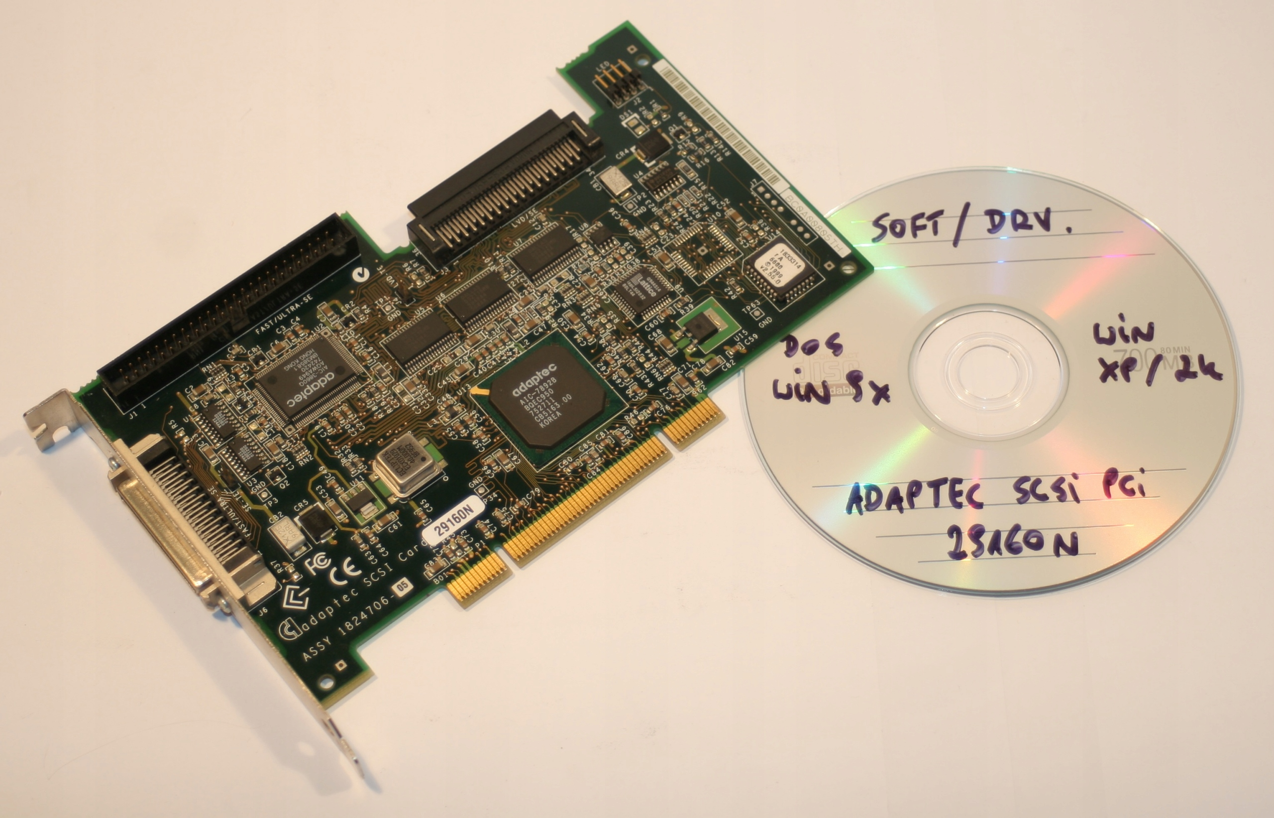 Driver for 29160N Ultra160 PCI SCSI Controller