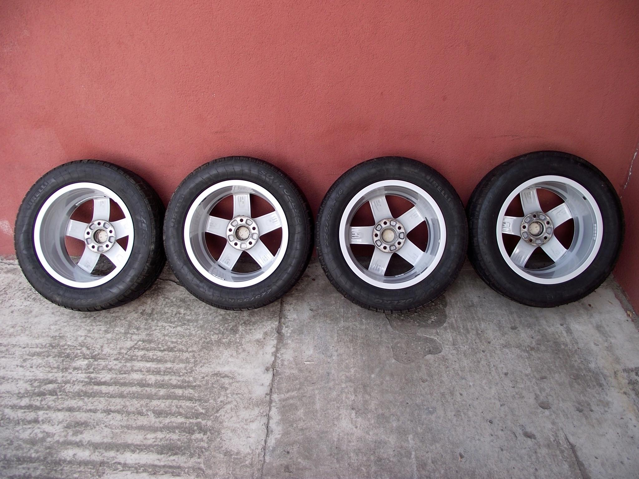 Koła 16 Audi A4 B8 5x112 Opony Zimowe 2255516 7593736167