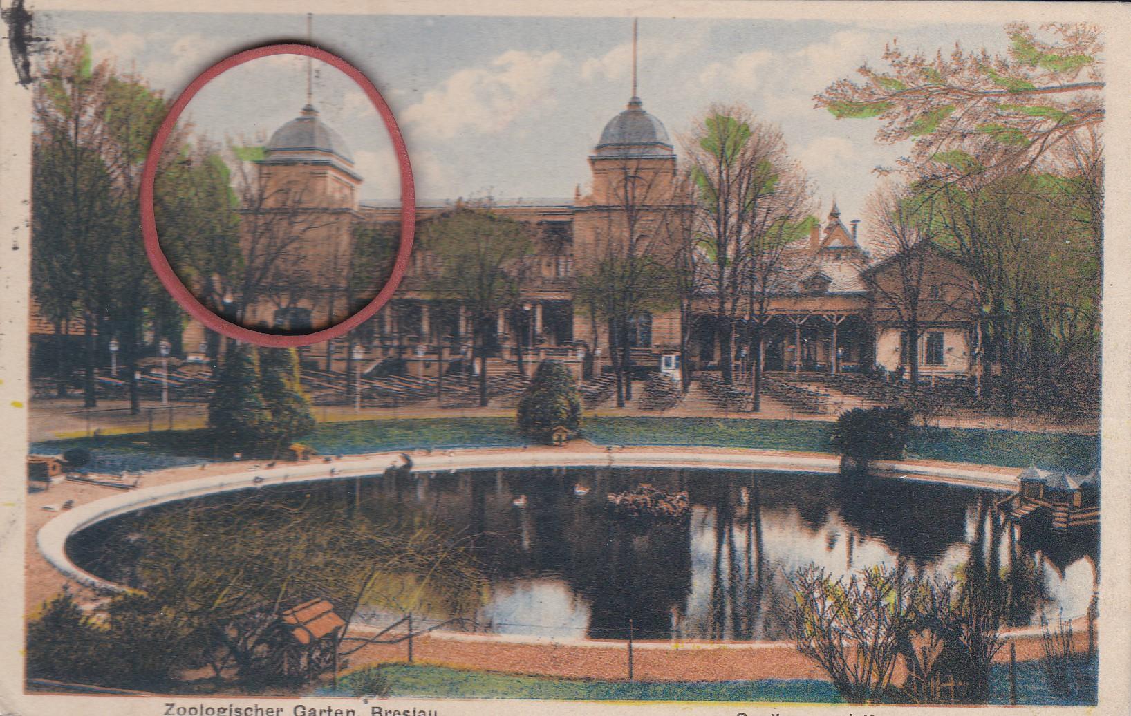Wrocław 1920 R Ogród Zoologiczny