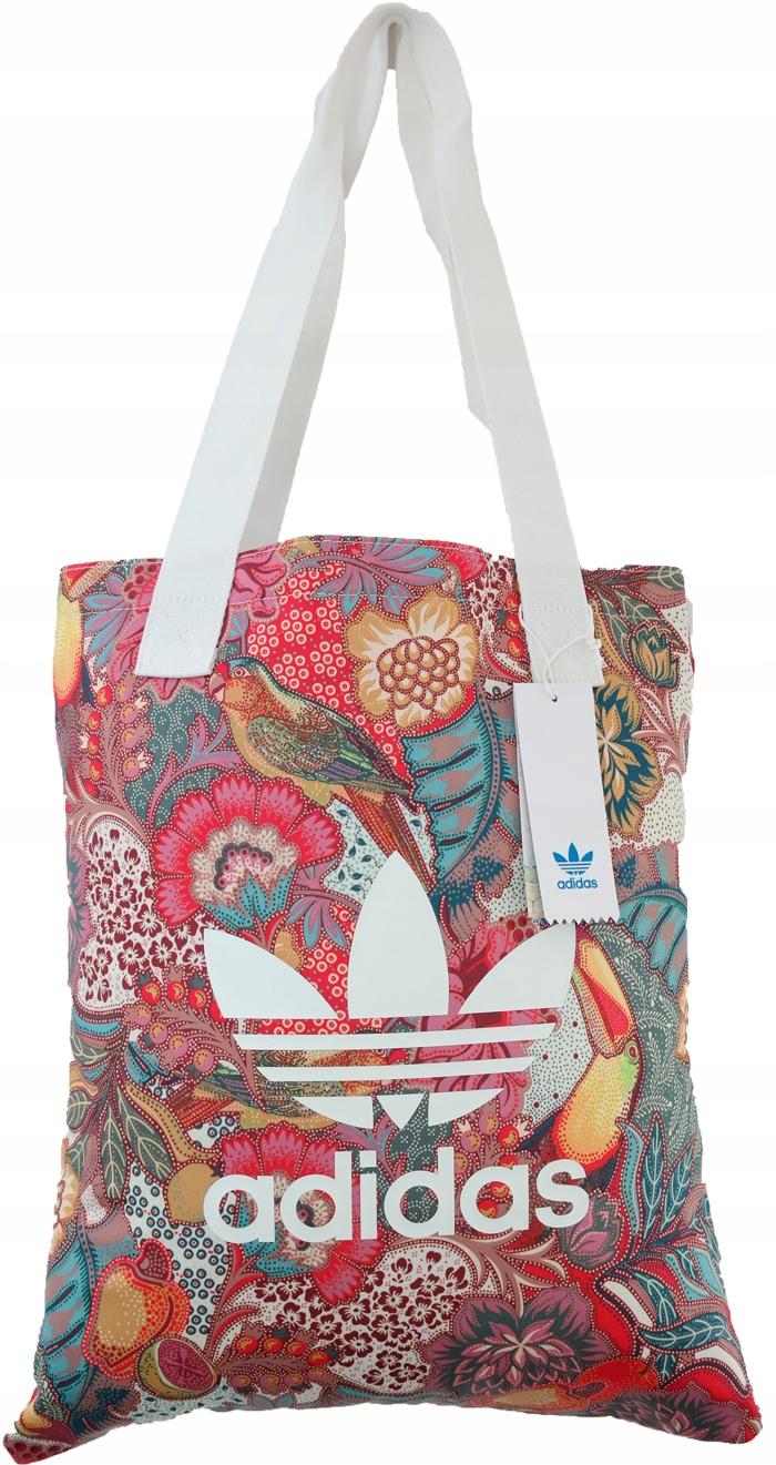 e752b3ee5592f Torba Adidas Originals Shopper torebka damska plaż - 7498185555 ...