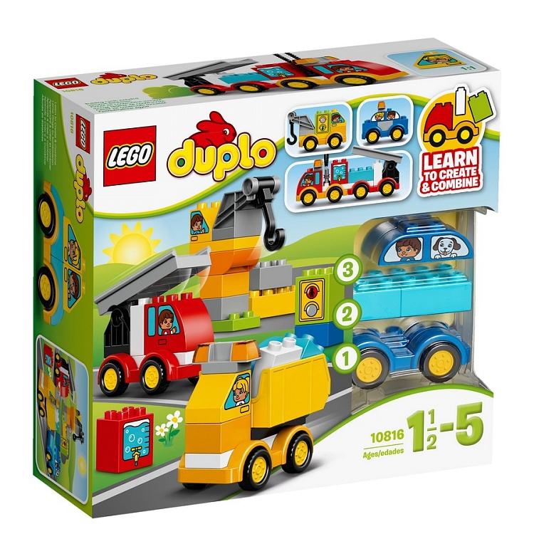Lego Duplo 10816 Moje Pierwsze Pojazdy Promocja 7034997931