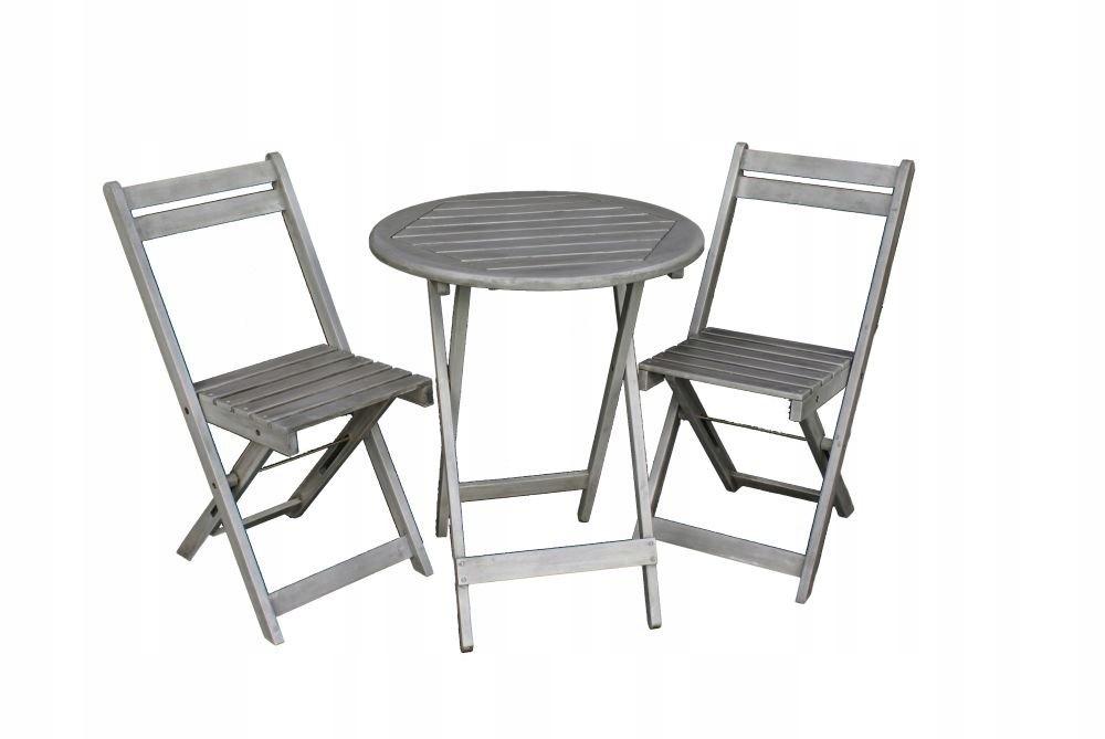 B520 Baltico Meble Balkonowe Stolik 2 Krzesła