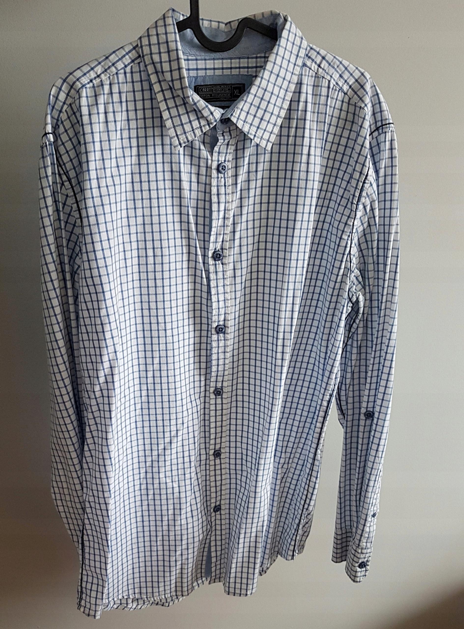 5d812e2f Koszula męska CARRY rozmiar XL