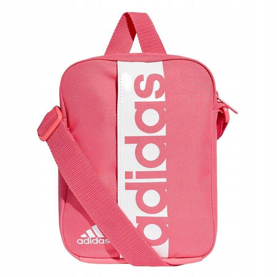 b8614cba98814 Torebka dziewczęca adidas Linear różowa na ramię - 7518693147 - oficjalne  archiwum allegro
