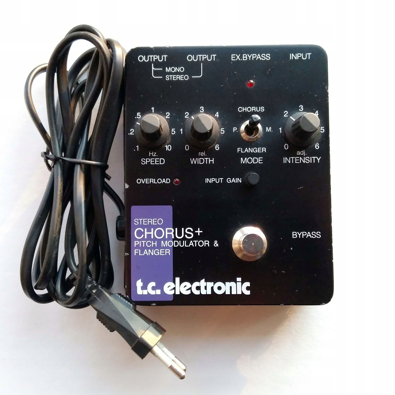 Chorus/Flanger T.C. Electronic (SCF)