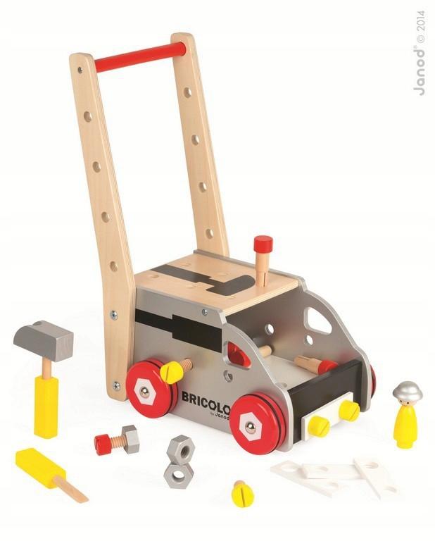 Ciężarówka do pchania magnetyczna z narzędziami
