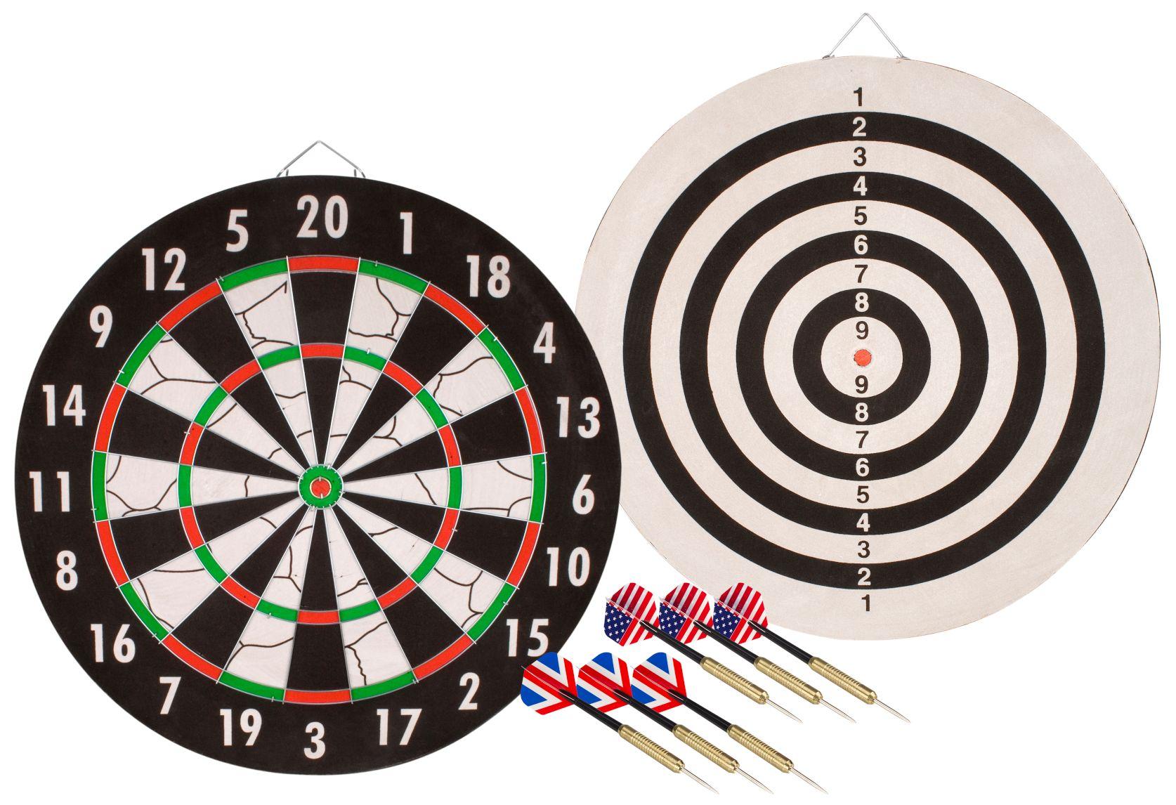 ABBEY DARTS tarcza flokowana tablica do gry w dart