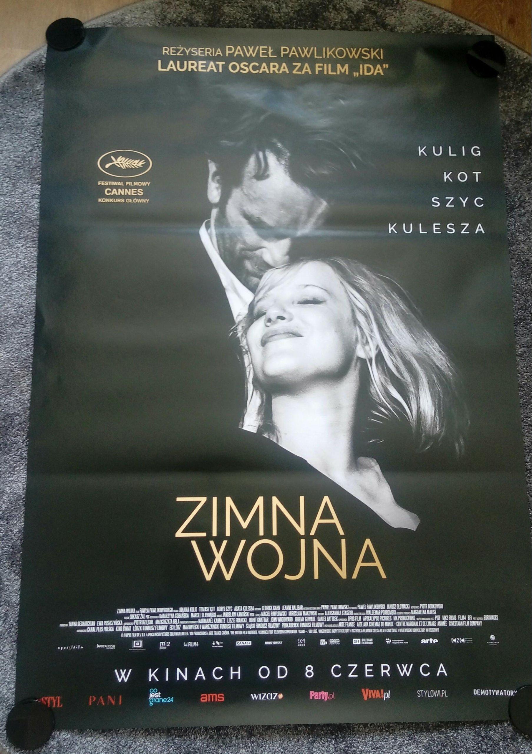 Zimna Wojna Plakat Filmowy 7371699920 Oficjalne