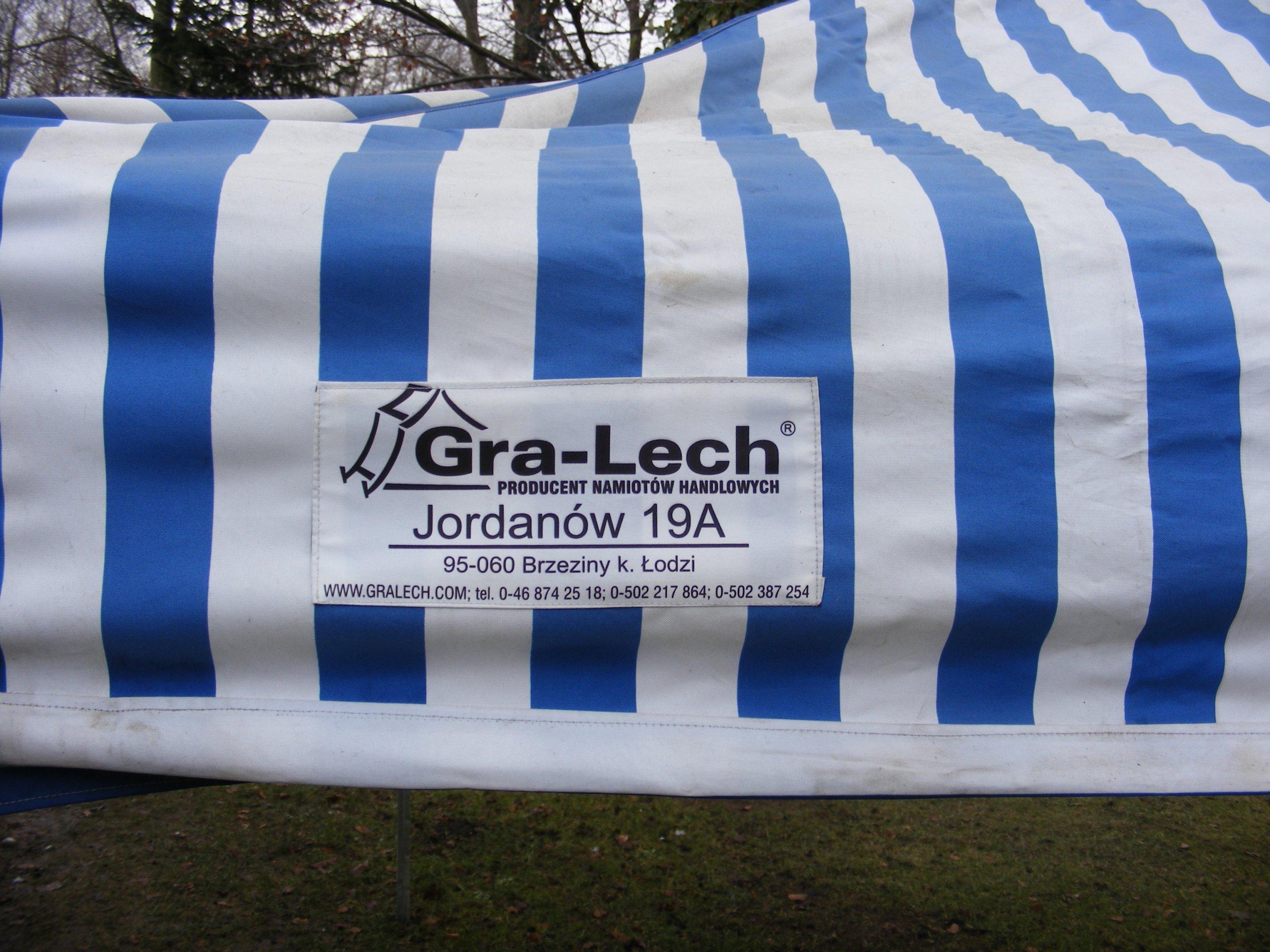 Zupełnie nowe Namiot pawilon handlowy Gra-Lech solidny - 7160607661 - oficjalne LC14