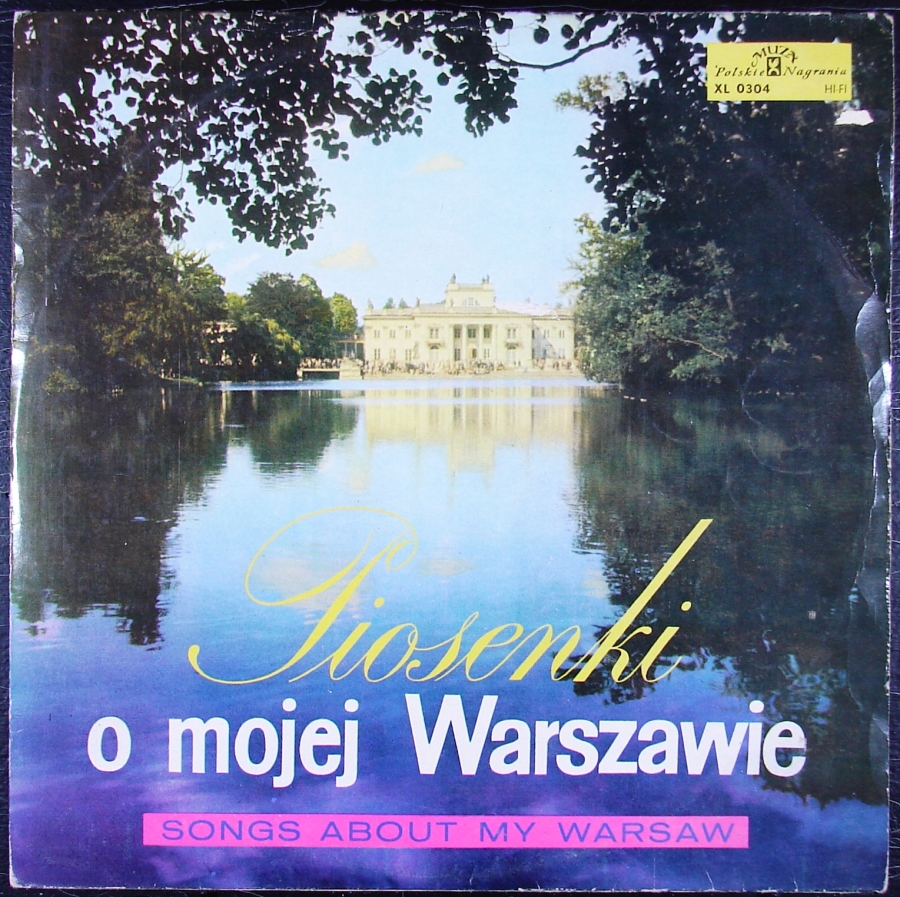 PIOSENKI O MOJEJ WARSZAWIE - 1966 róż wyk - WINYL