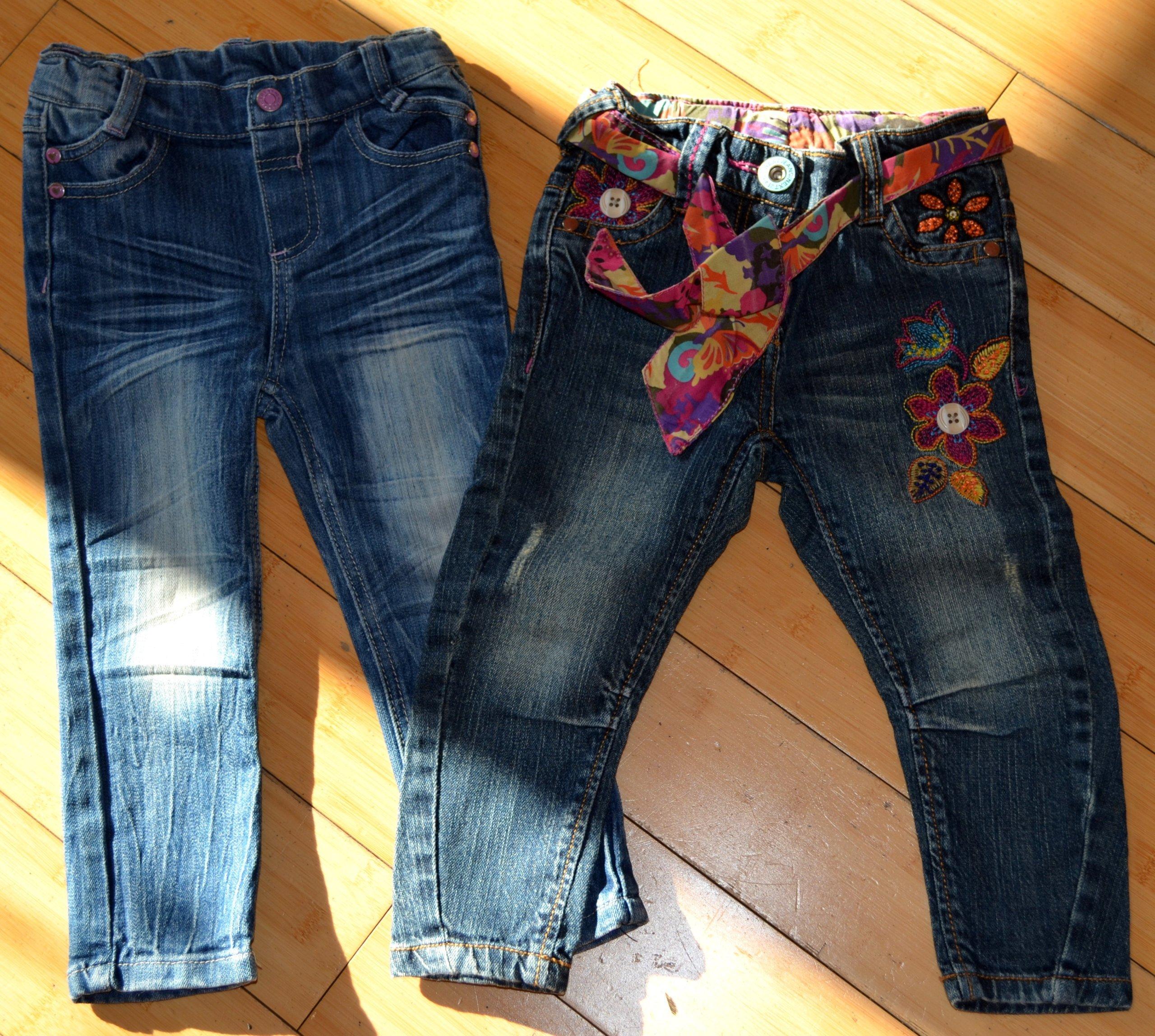 Spodnie NEXT jeansy rozmiar 92-98 2x