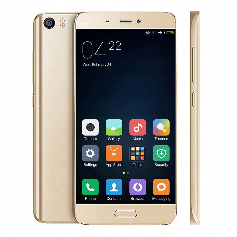 Xiaomi Mi5 PL 3/32GB DualSIM LTE ZŁOTY SKLEP FV23%