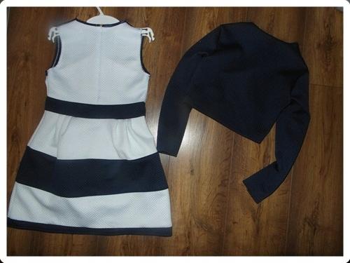 bd139c63 Sukienka z marynarką dziewczynki 146 Szkoła - 7482897917 - oficjalne ...
