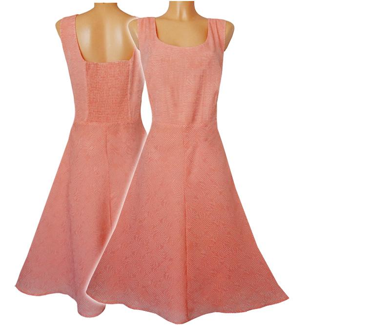 890057dee5 BHS Śliczna Sukienka Szyfon r. 50 - 7169897127 - oficjalne archiwum ...