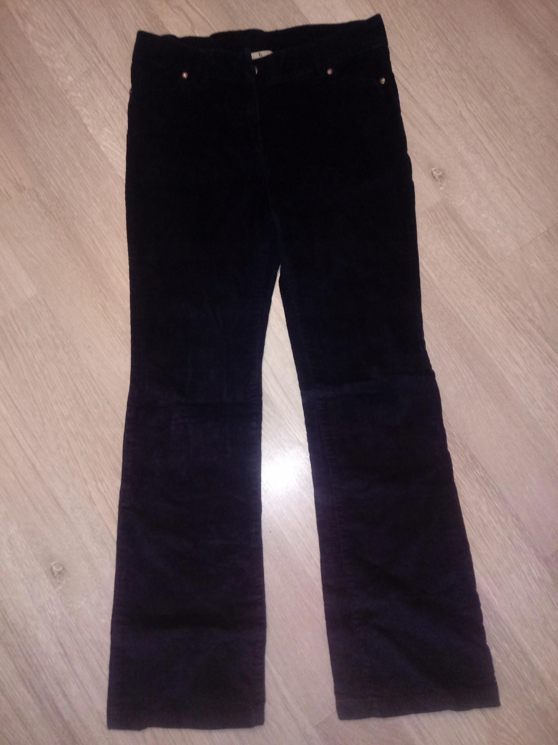 088539321774 Spodnie damskie sztruks rewelacyjne TU r.M OKAZJA - 7700931786 ...