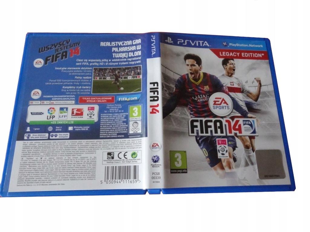 :::SONY PSVITA-FIFA 14:::