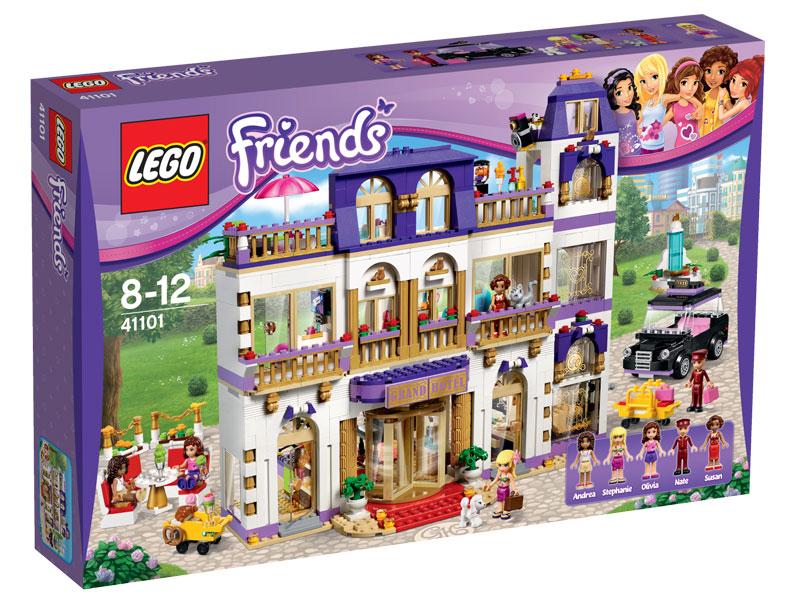 Lego Friends Klocki Grand Hotel W Heartlake 41101 6741826319