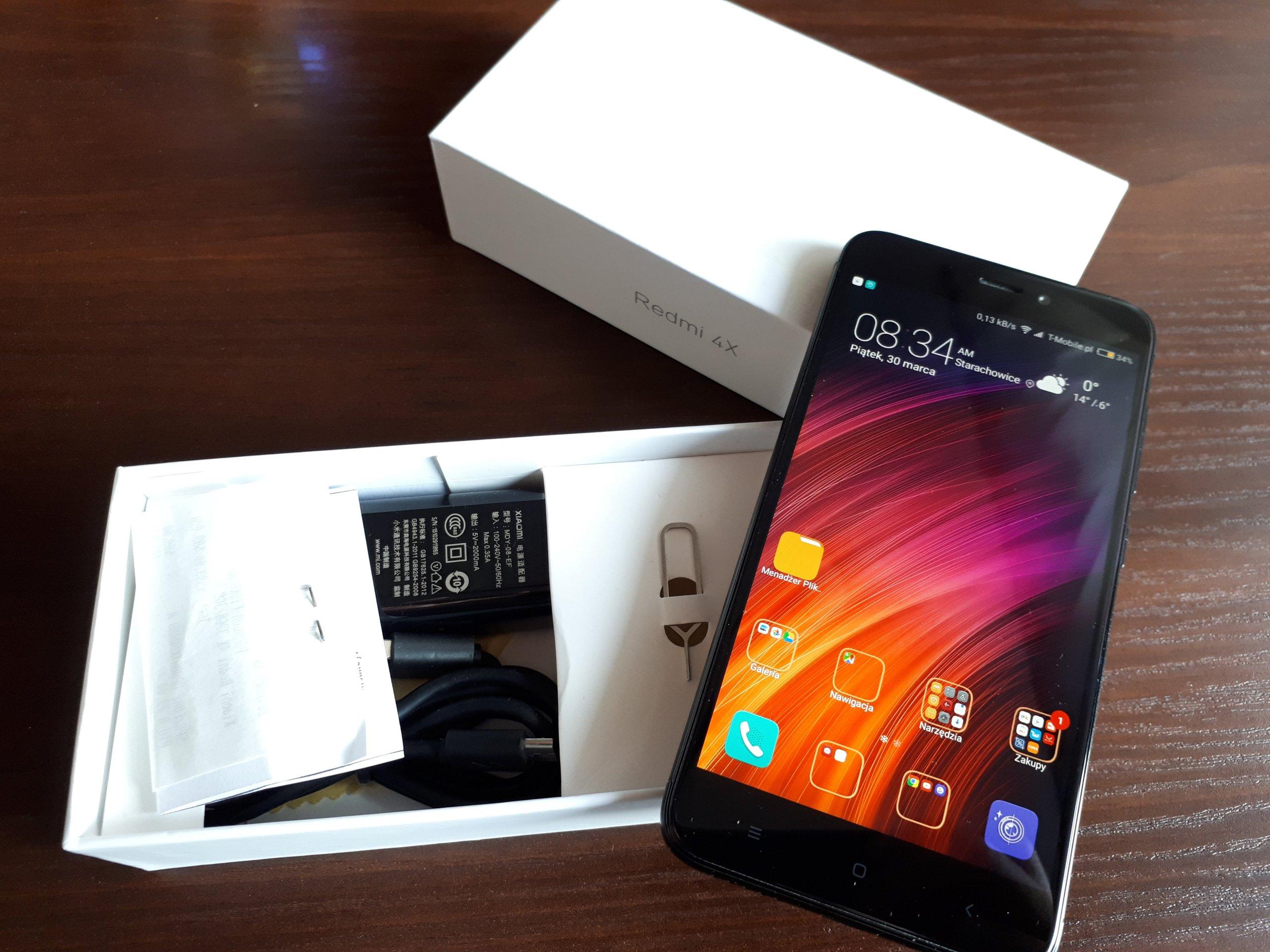 Xiaomi Redmi 4X 3 32GB idealny polska gwarancja