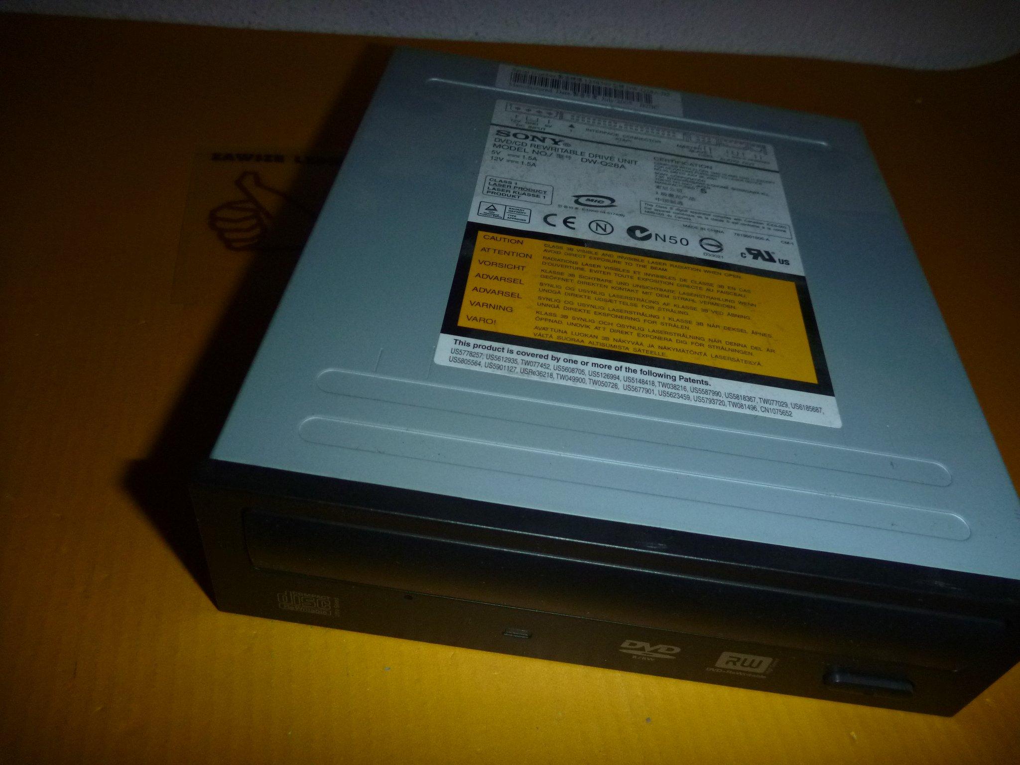 DRIVERS: SONY DVD RW DW Q28A