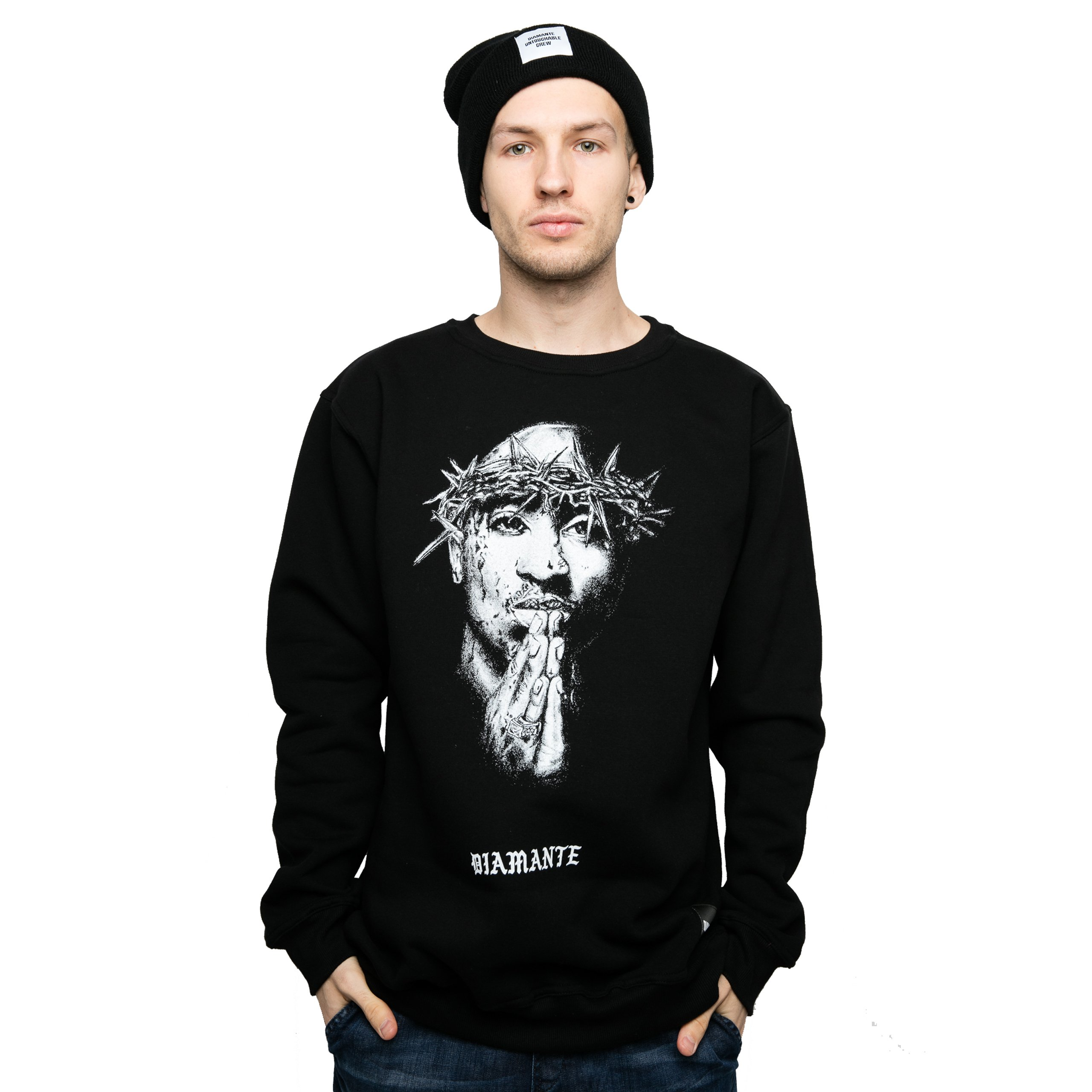 Bluza Diamante Wear All Eyez On Me Tupac Unise XXL