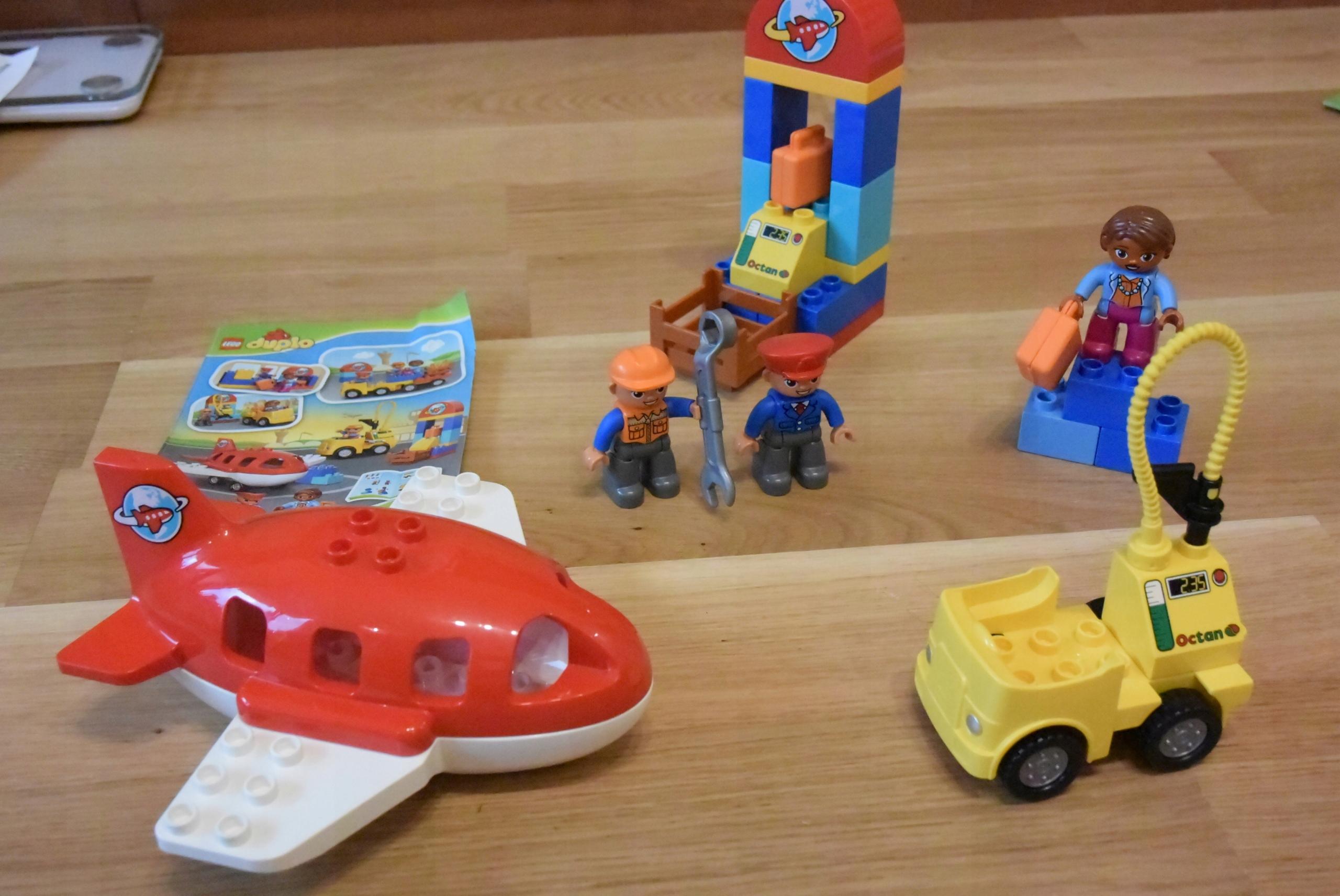 Klocki Lego Duplo 10590 Lotnisko Samolot 7440995576 Oficjalne