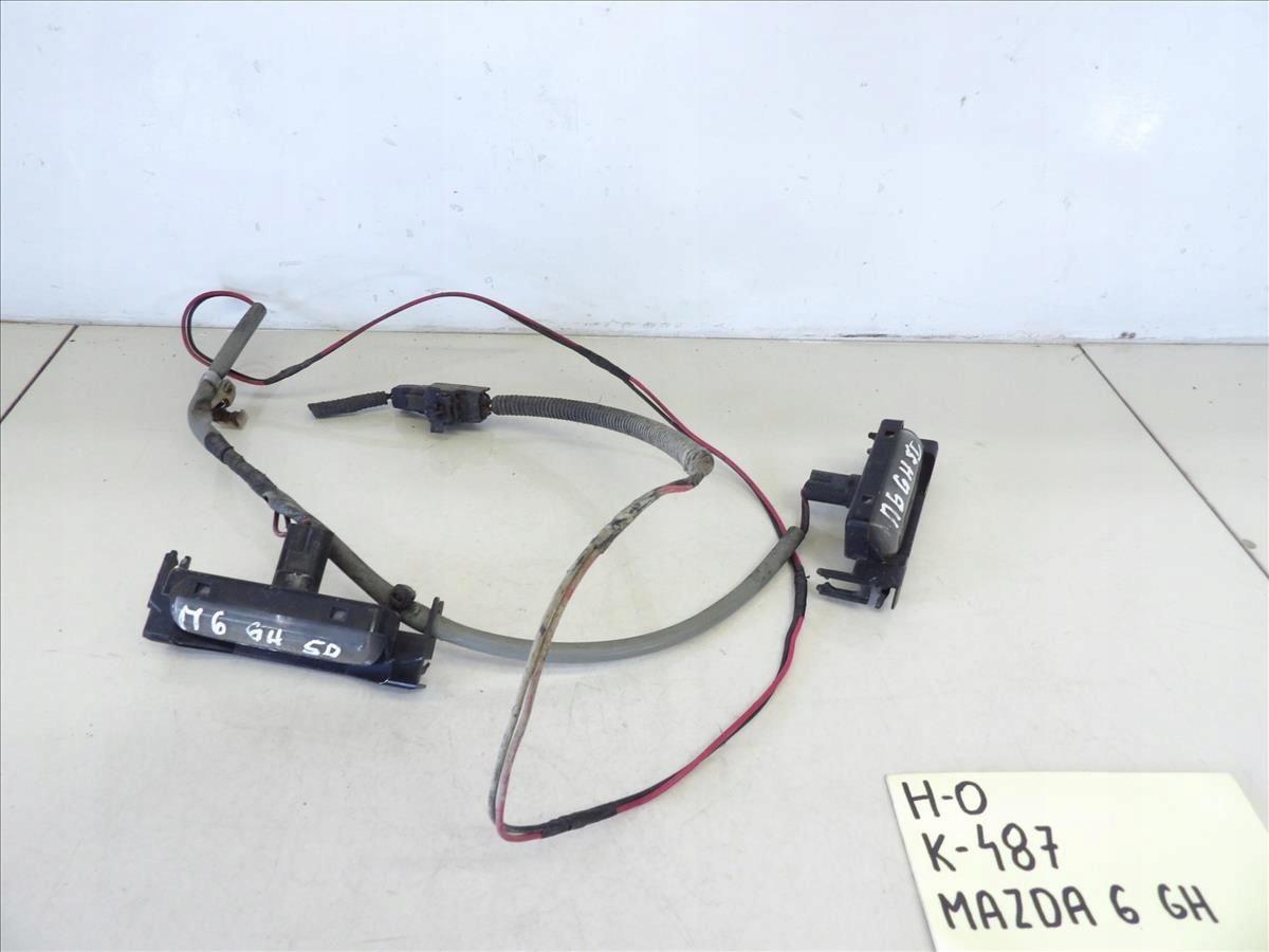 Lampka Tablicy Rejestracyjnej Kpl Mazda 6 Gh 07 13
