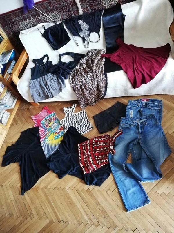 da0cf0c338 Rockowa paka S 36 czarne tumblr Markowe ubrania - 7509796920 ...