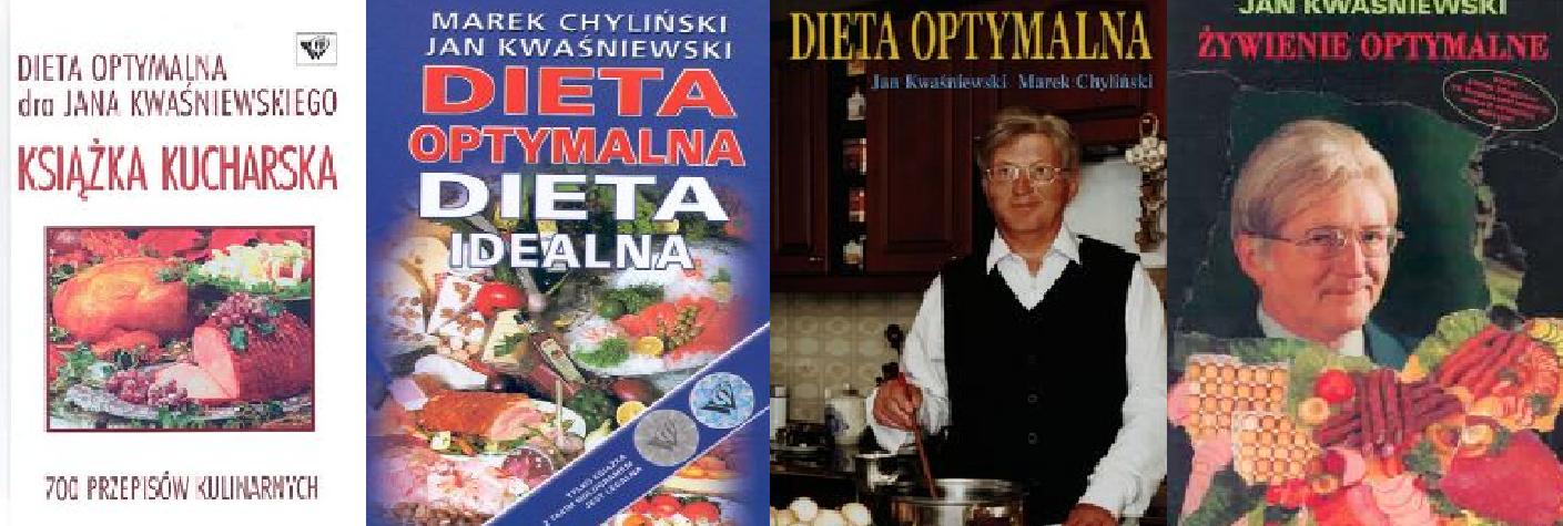 Ksiazka Dieta Optymalna Kwasniewski 4 Ksiazki 7300755017